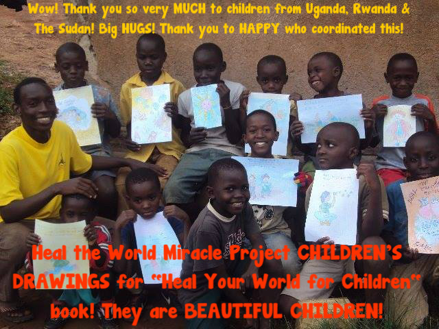 Children & their drawings - from Uganda