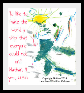 Nathan 4 yrs., U.S.A.