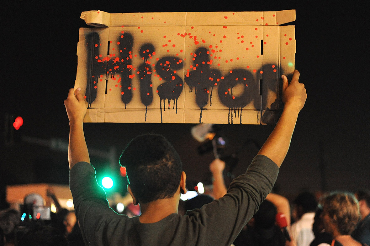 ferguson-mike-brown history sign