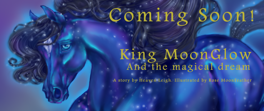 King MoonGlow book character