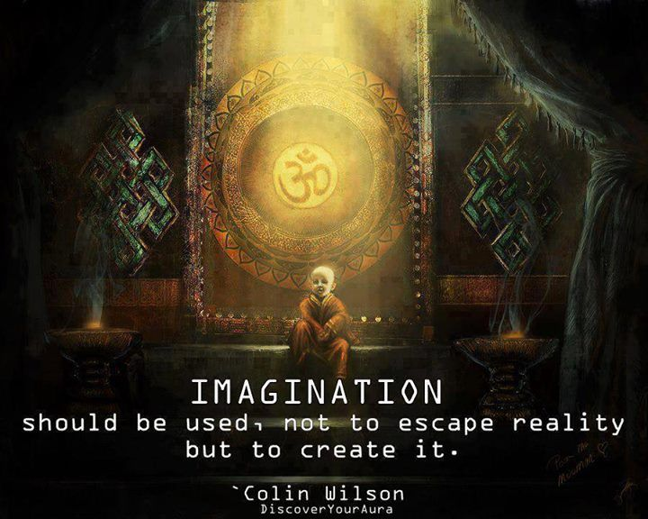 Imagination Quote by Colin Wilson