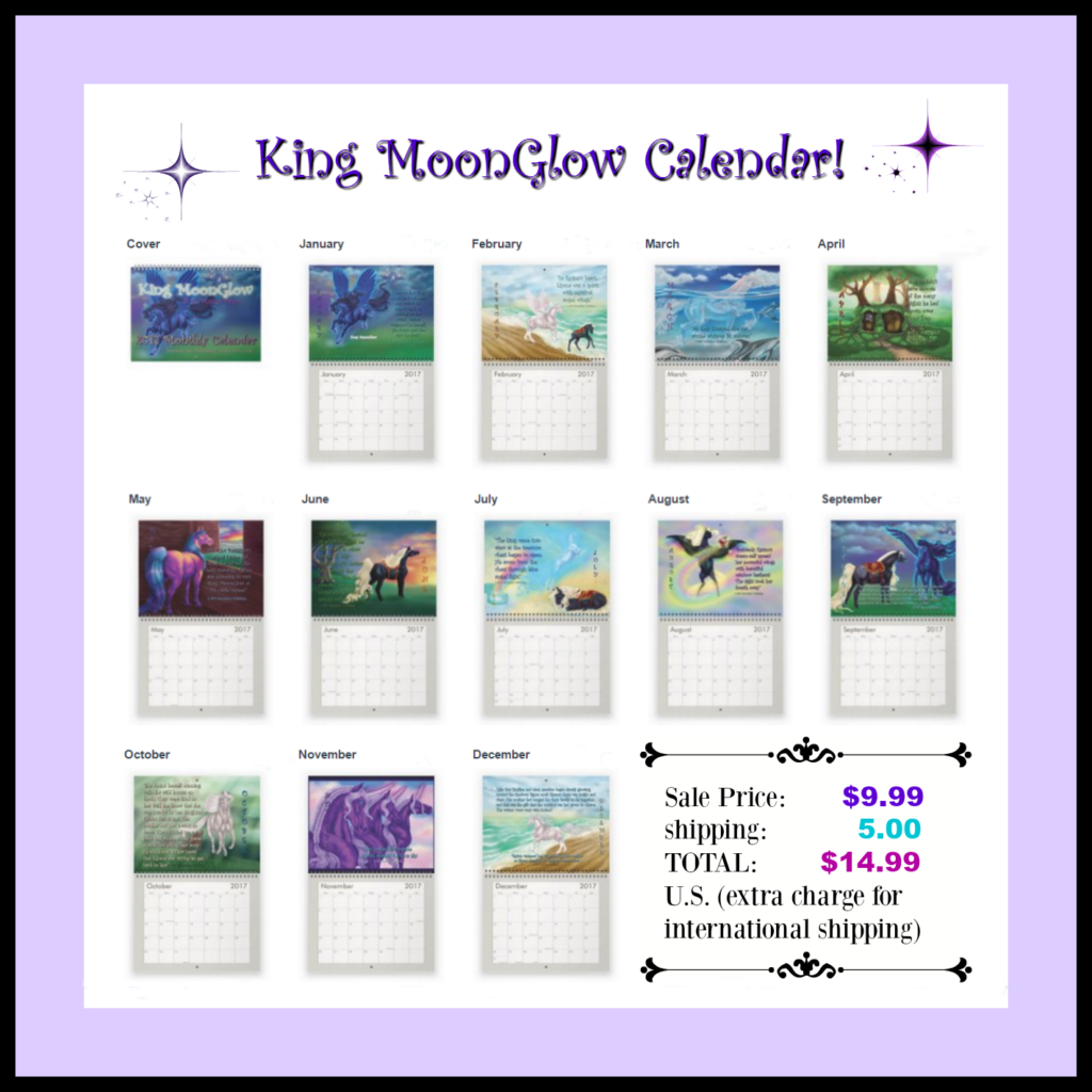 King MoonGlow Calendar Thumbnail